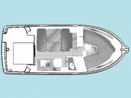Croatia charter and sailing - Motor boat - Jeanneau Merry Fisher 805 (code:MAN24) - Primosten - Riviera Sibenik  - Croatia - Jeanneau Merry Fisher 805 (code:MAN24):