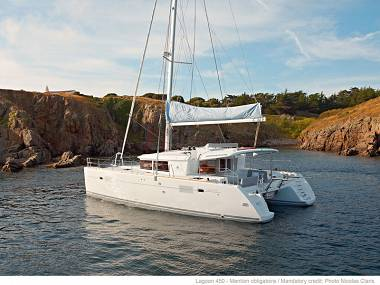 Croatia charter and sailing - Catamaran - Lagoon 450 (CBM Periodic) - Split - Riviera Split  - Croatia - Lagoon 450 (CBM Periodic):