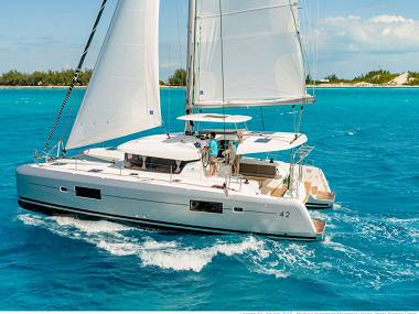 Croatia charter and sailing - Catamaran - Lagoon 42 (CBM Periodic) - Split - Riviera Split  - Croatia